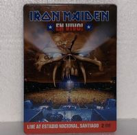 Iron Maiden: En Vivo! - DVD - 2 Discs - Steelbook